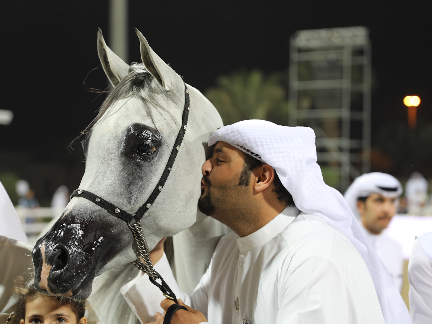 Kuwait Nationals - A Kiss For The Winner - photo by Michael Steurs