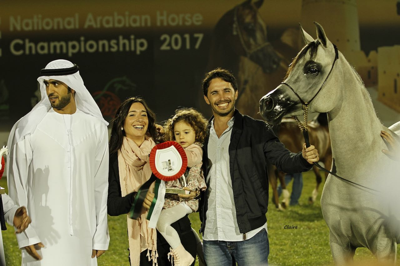 2017 UAE National Championship - smiling faces everywhere - photo by Claire Reigneaud
